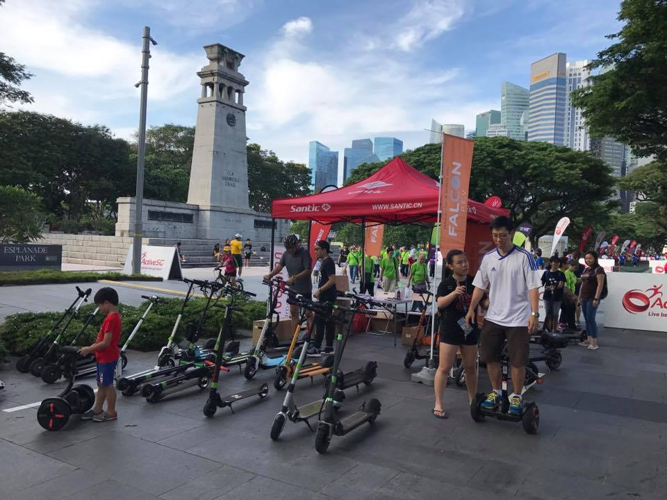 rent electric scooters for corporate events