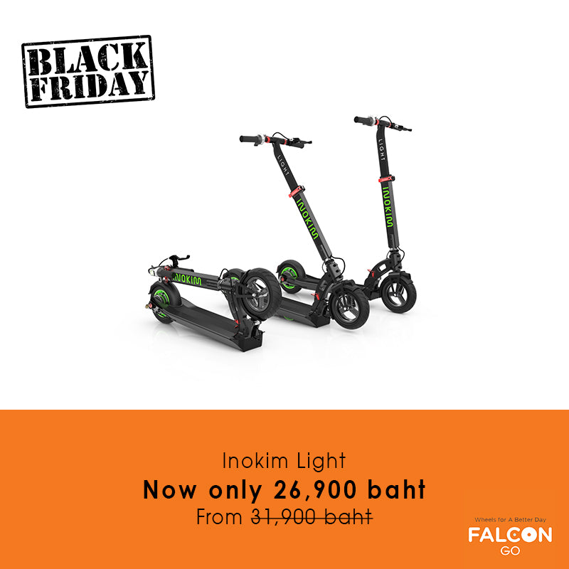 Inokim Light e-scooter Black Friday Sale