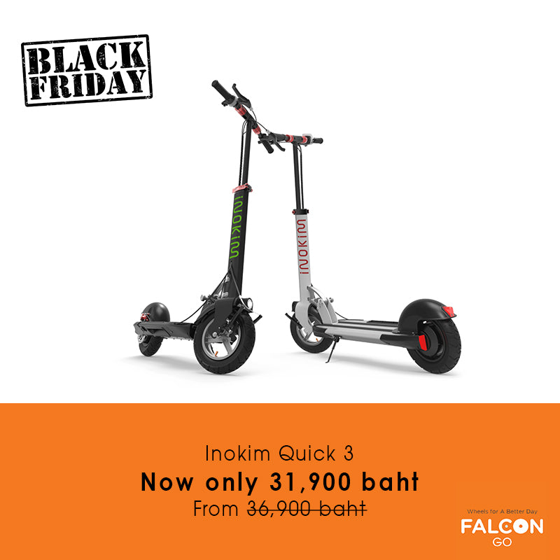 Inokim Quick 3 e-scooter Black Friday Sale