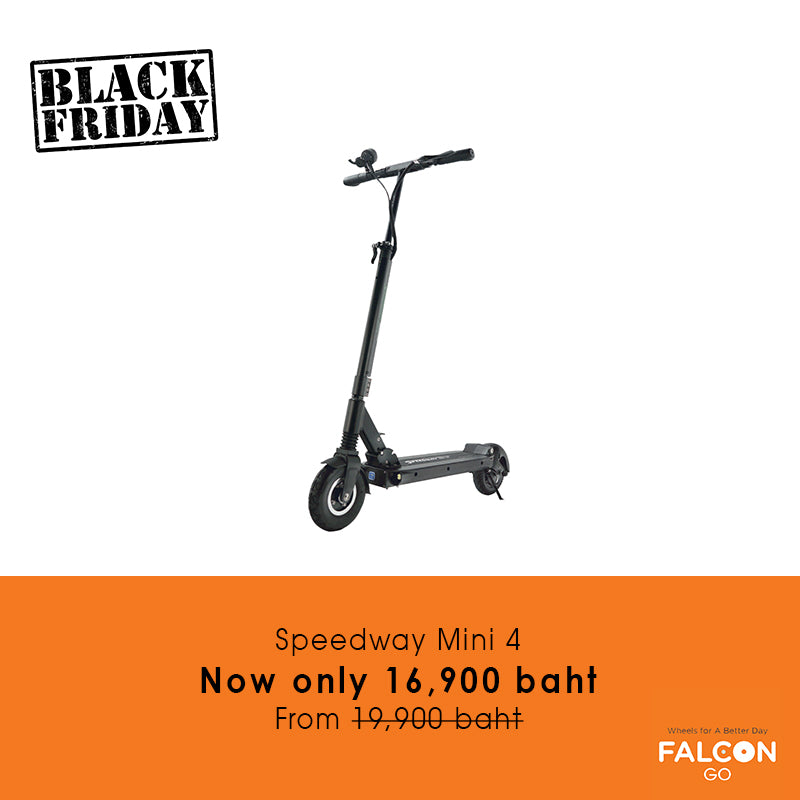 Speedway Mini 4 e-scooter Black Friday Sale