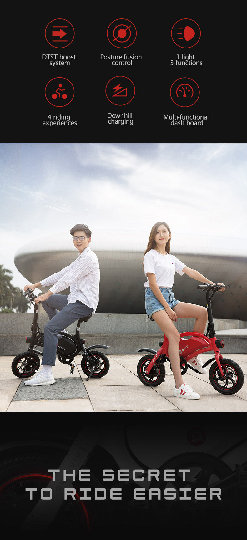 DYU D2f electric bike