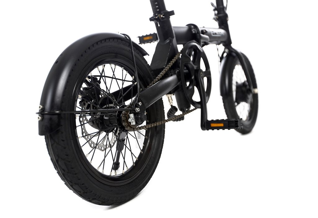 EPIQUE City electric bicycle wheels