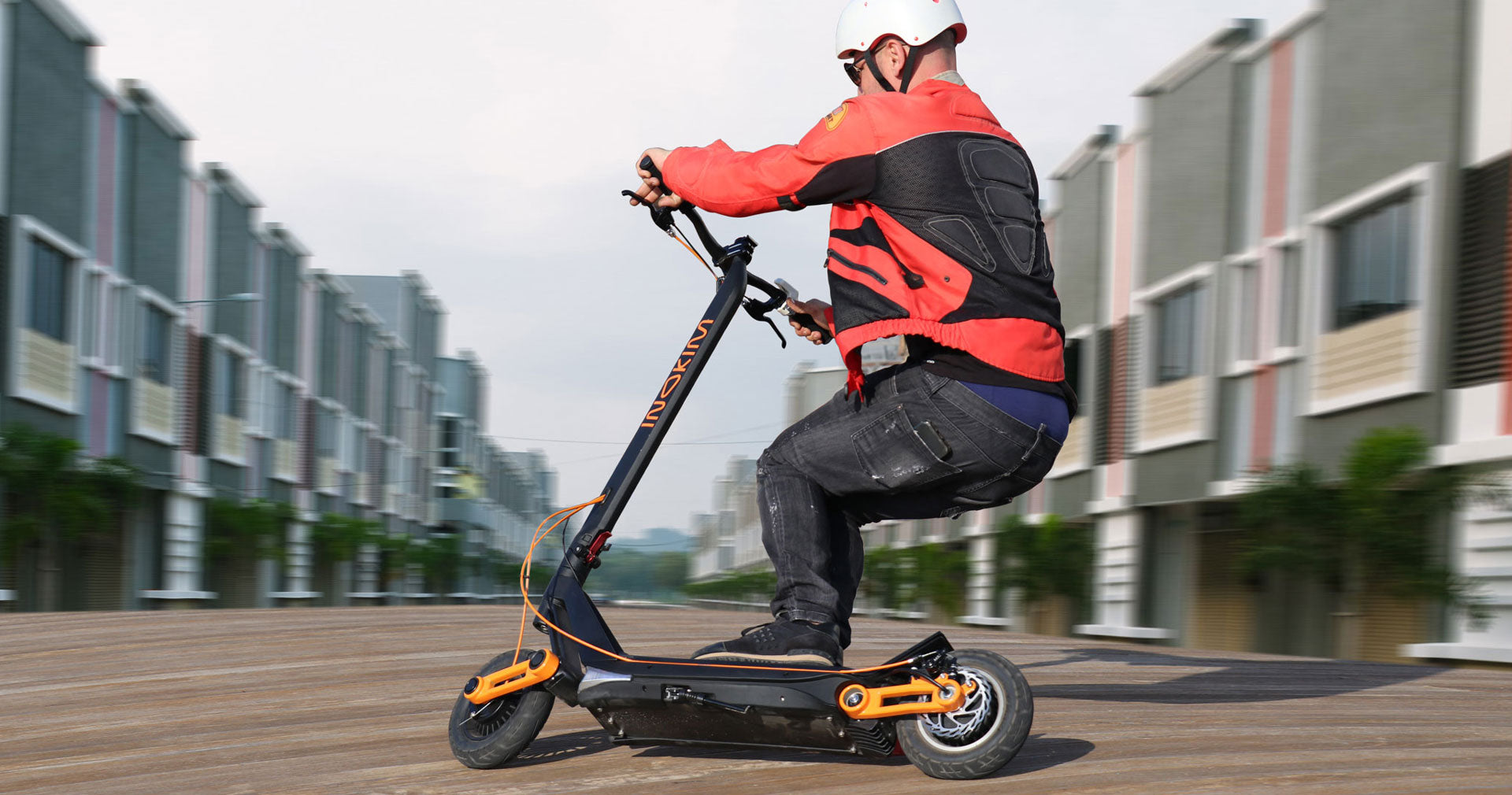 Inokim Ox powerful and fast e-scooter