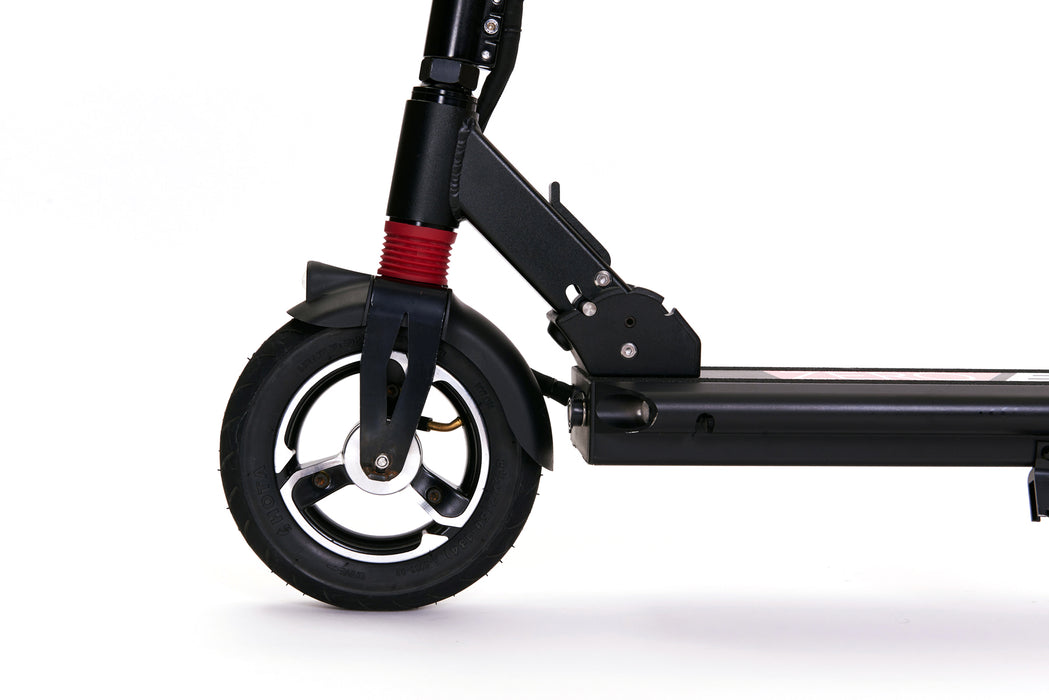 Zero 8 electric scooter with front and rear suspension