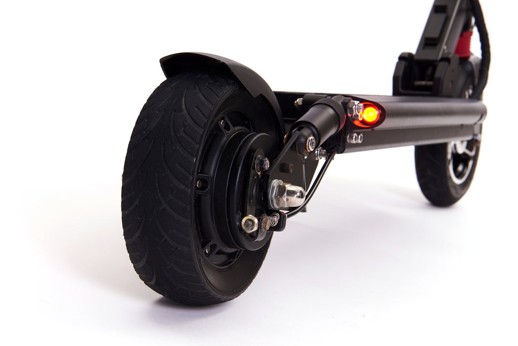 Zero 8 e-scooter with front and rear suspension