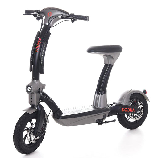 Kobra electric scooter with seat