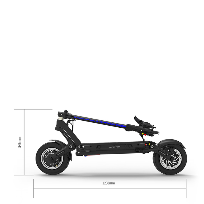 Dualtron Thunder electric scooter size