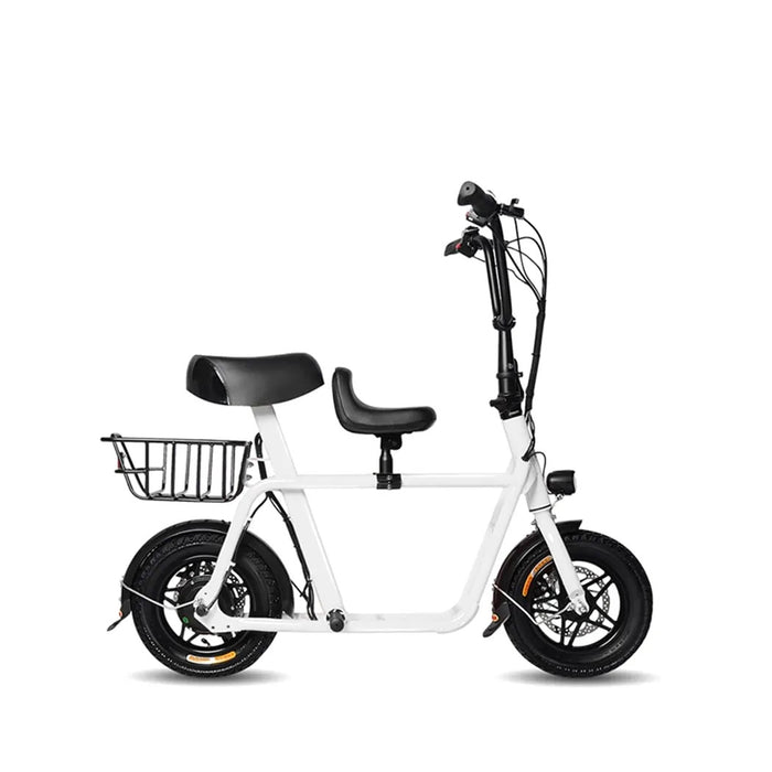 Fiido Q1 electric scooter white colour