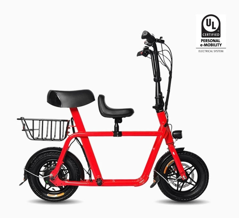 Fiido Q1 e-scooter red colour