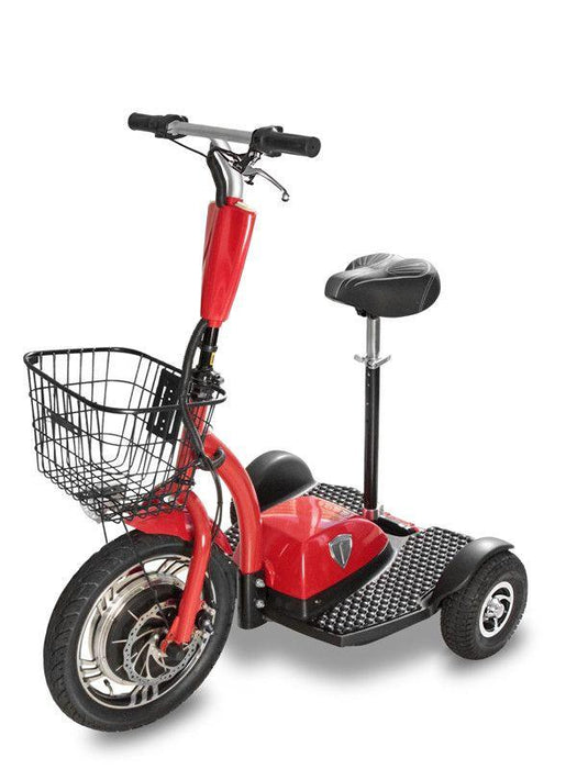 seated 3 wheel electric scooter