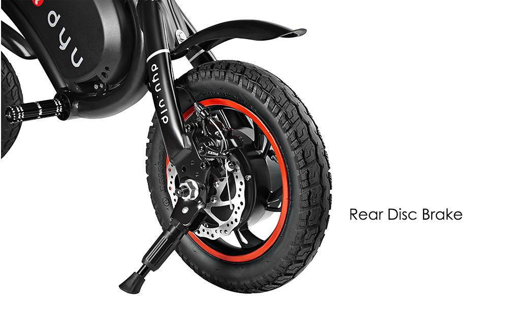 DYU large wheel e-scooter e-bike