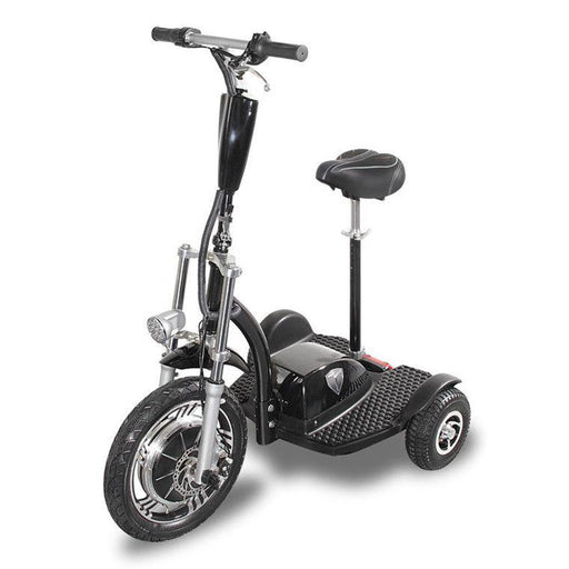 seated 3 wheel e-scooter