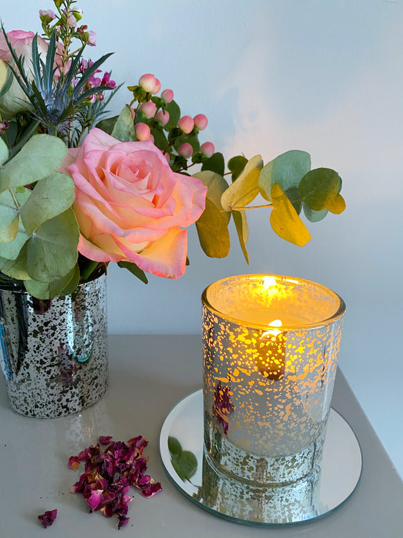 Limited Edition Roses Soy Wax Candle
