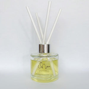 Raspberry & Black Pepper Diffuser - Solu Candles