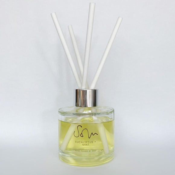 Eucalyptus & Mint Diffuser - Solu Candles