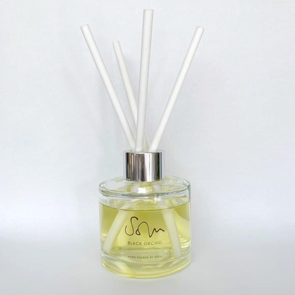 Black Orchid Diffuser - Solu Candles