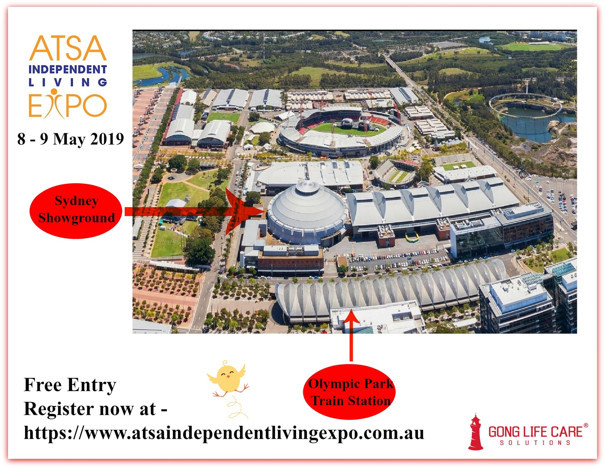 Gong Life Care Solutions at ATSA Sydney Expo 2019