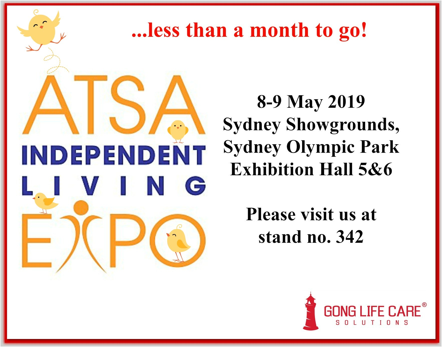 Gong Life Care Solutions at ATSA Expo