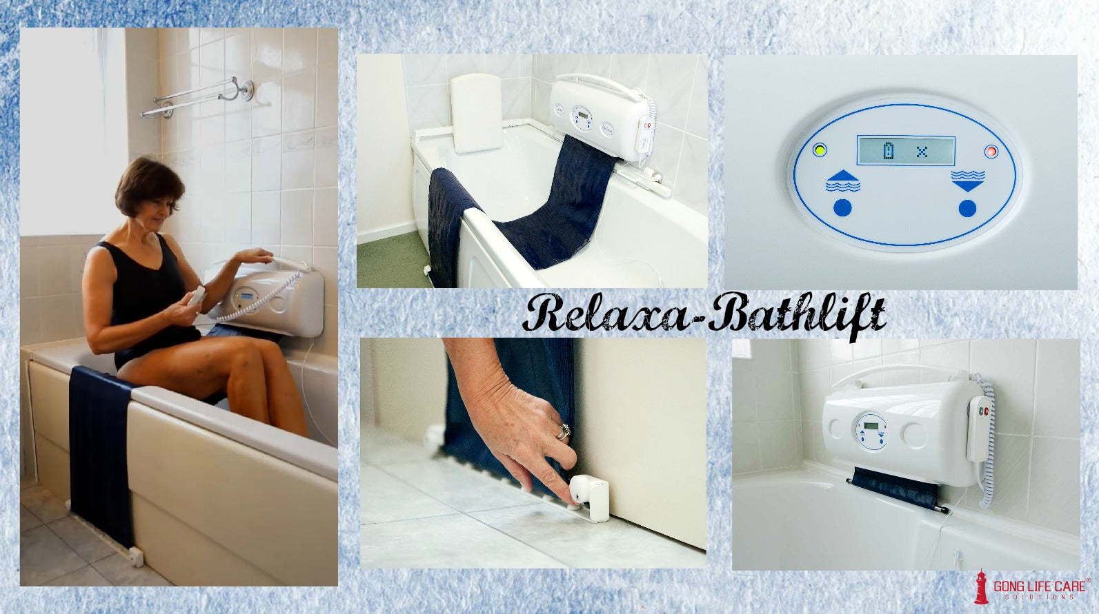 Relaxa-Bathlift, Gong Life Care Solutions, Assistive Technology