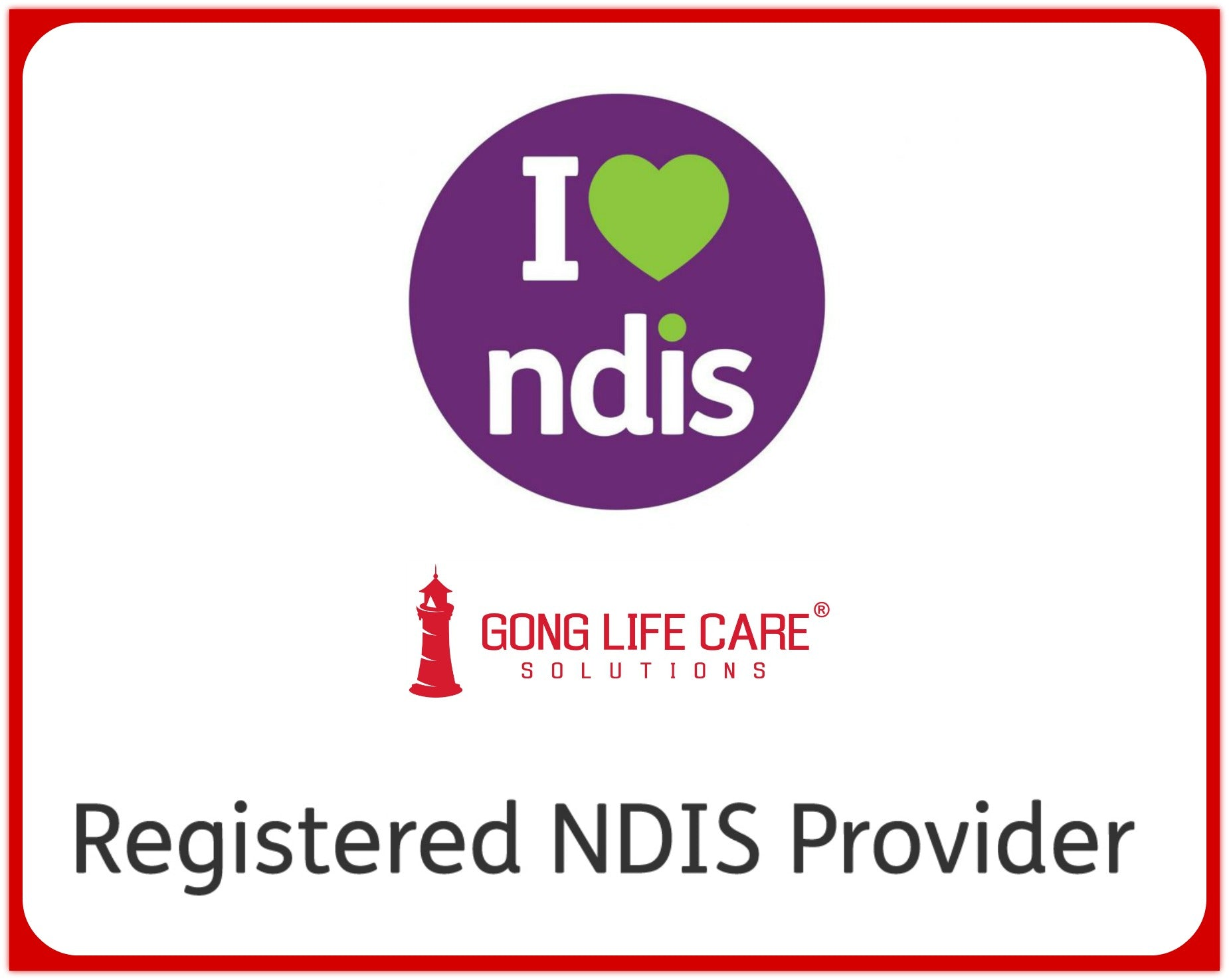 Gong Life Care Solutions NDIS Provider