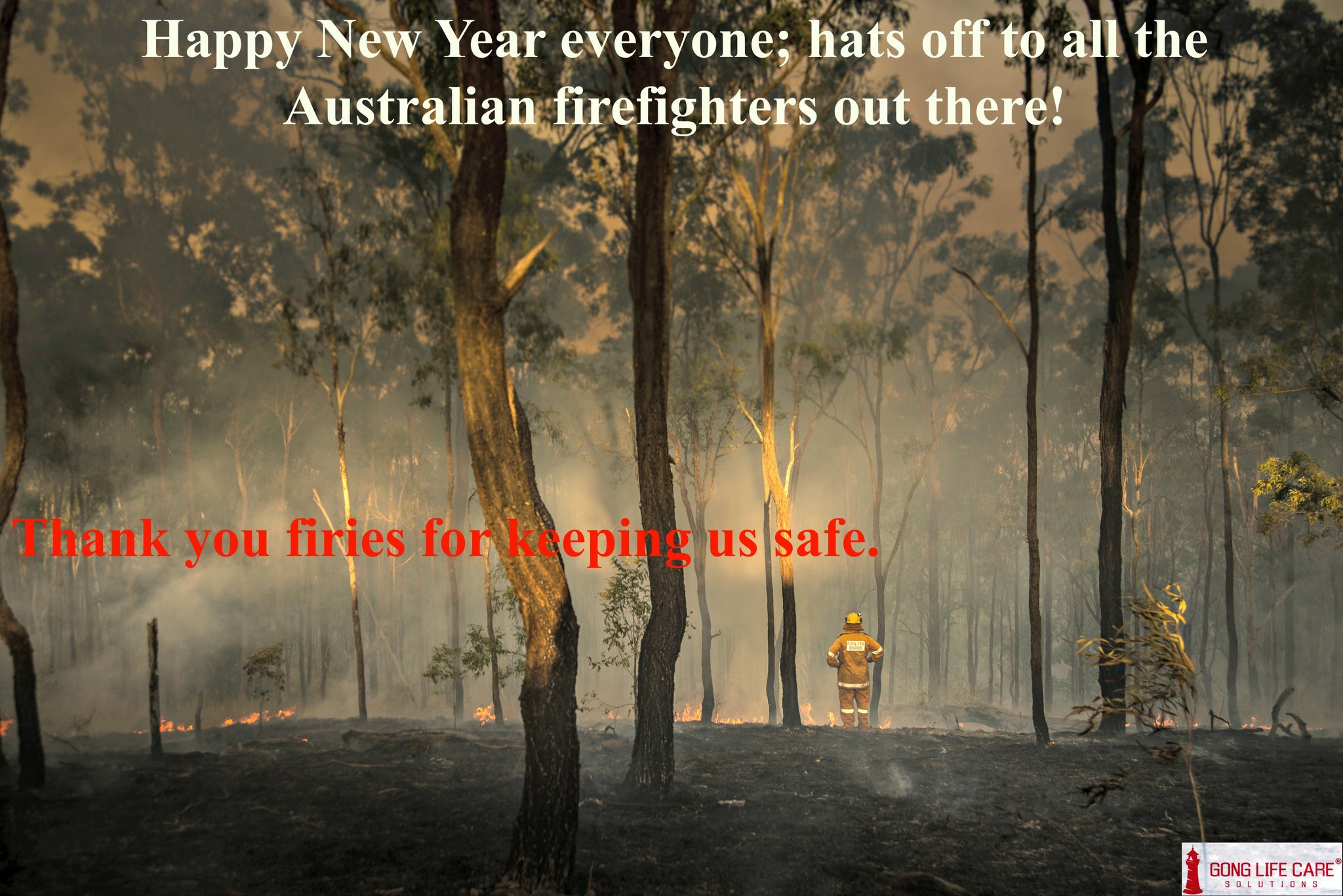 Happy New Year | Thank you firies