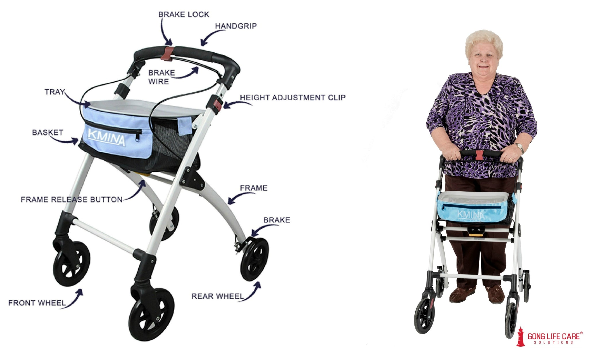 Rollator - Mobility Aids Assistive Technology
