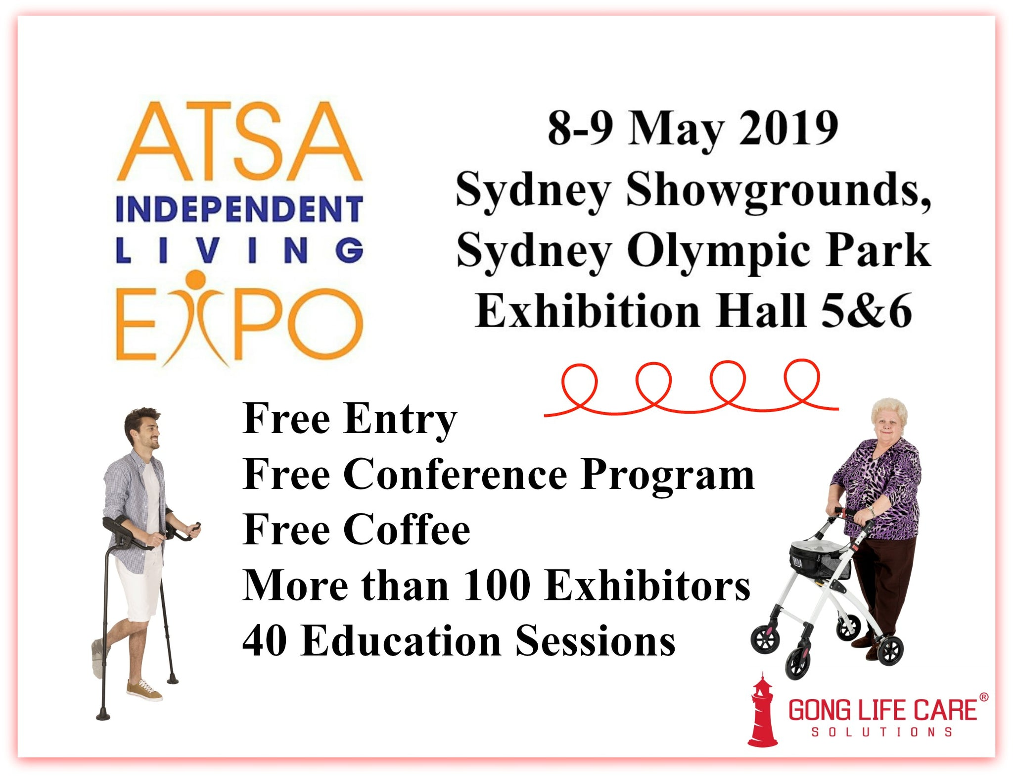 Gong Life Care Solutions at ATSA Sydney 2019
