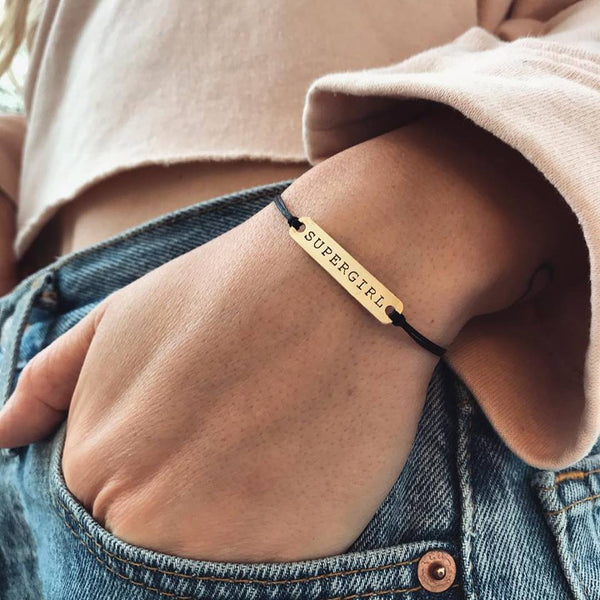 Supergirl Bracelet – Limited Edition for Women's Day