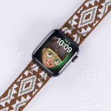 Tefeca NA Chocolate Stretch Elastic Apple Watch Band 38mm/40mm  42mm/44mm - ENAC