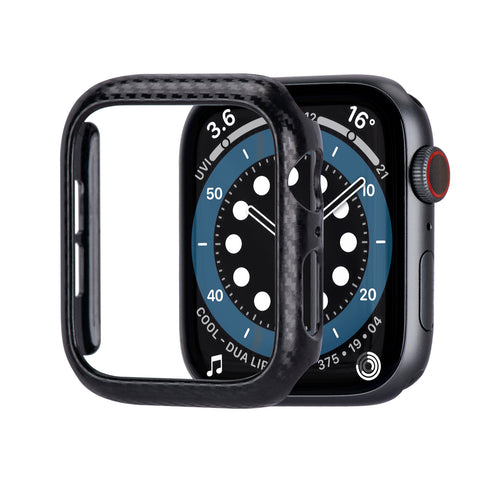 Tefeca Apple Watch Case, Carbon Fiber Pattern Protective Case for Apple watch