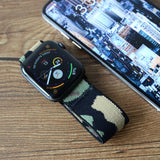 Tefeca Camouflage Stretch Elastic Apple Watch Band 38mm/40mm  42mm/44mm - CAMO