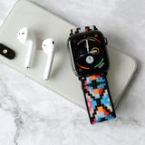 Tefeca Geometry Pattern Elastic Apple Watch Band  38mm/40mm  42mm/44mm - EG