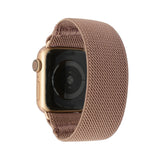 Tefeca Khaki Colored Stretch Woven Elastic Apple Watch Band 38mm/40mm  42mm/44mm - EKHW