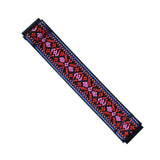 Tefeca Red Embroidery Ethnic Pattern Stretch Elastic For Fitbit Versa/Versa 2/ Versa Lite/Versa SE - EREE