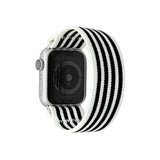 Tefeca Stripe Pattern Stretch Elastic Apple Watch Band 38mm/40mm  42mm/44mm - ES