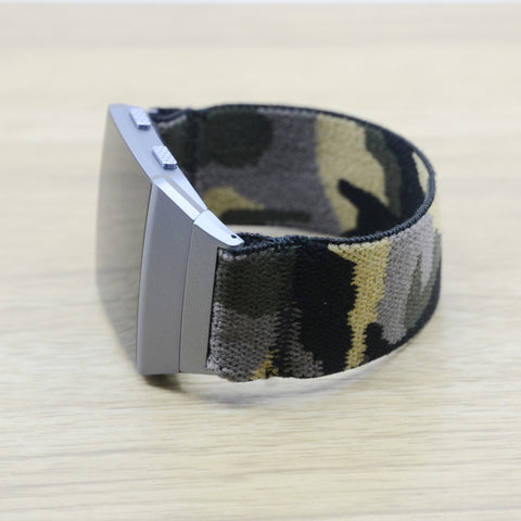 Tefeca Camouflage Stretch Elastic For Fitbit Ionic - CAMO