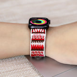 Tefeca Aztec pattern Stretch Elastic Apple Watch Band 38mm/40mm  42mm/44mm - EA0921P