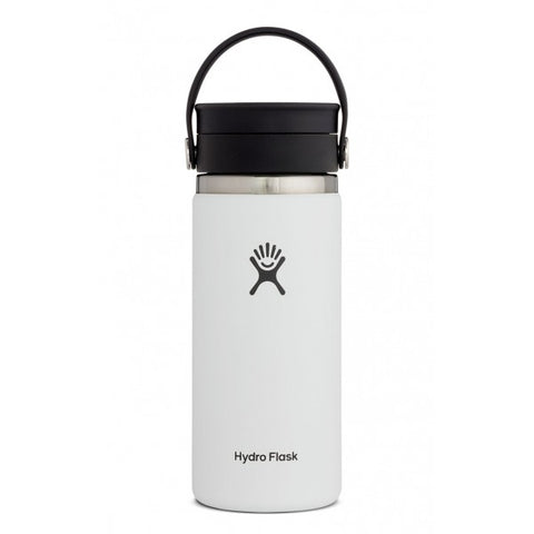 16 OZ COFFEE FLASK WIDE MOUTH W/ FLEX SIP LID