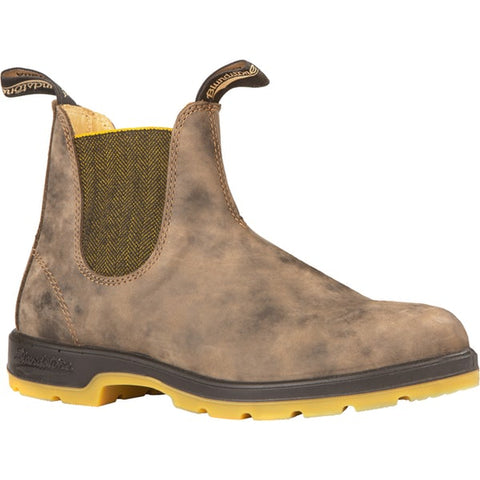 Blundstone 1944 - Leather Lined - Rustic Brown with Mustard Sole