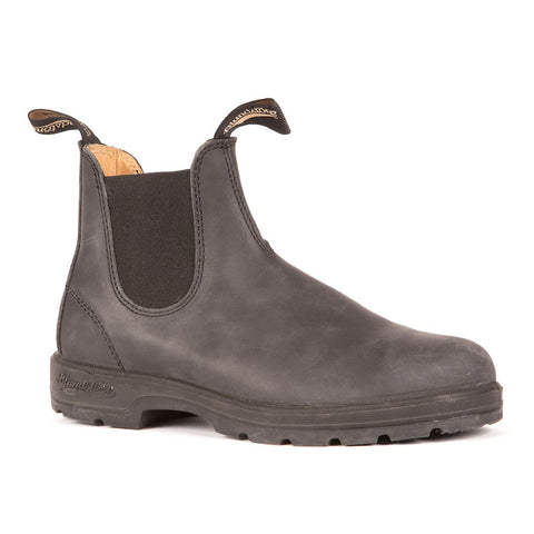 Blundstone 587 - Leather Lined - Rustic Black