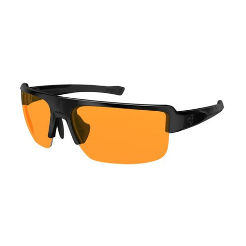 SEVENTH - STANDARD EYEWEAR (BLACK / ORANGE LENS)
