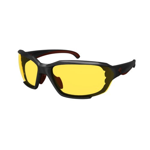 ROCKWORK - ANTIFOG EYEWEAR (BLACK-RED / YELLOW LENS)