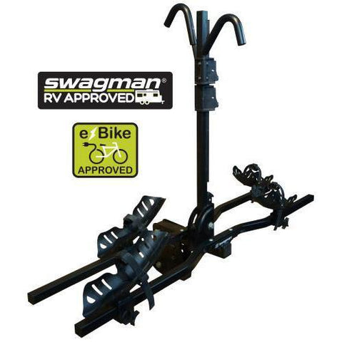 E-SPEC BLACK HITCH BIKE RACK