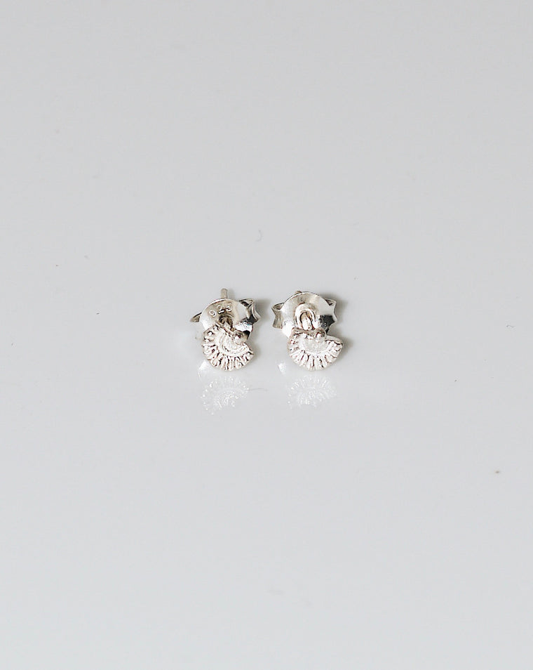 AHAU EARRINGS SILVER