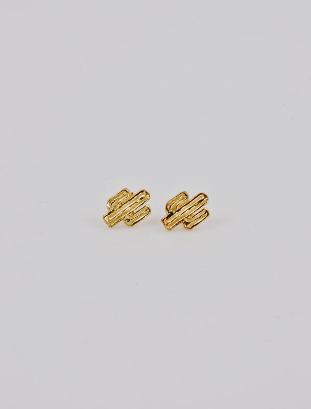 KAKTUS EARRINGS GOLD