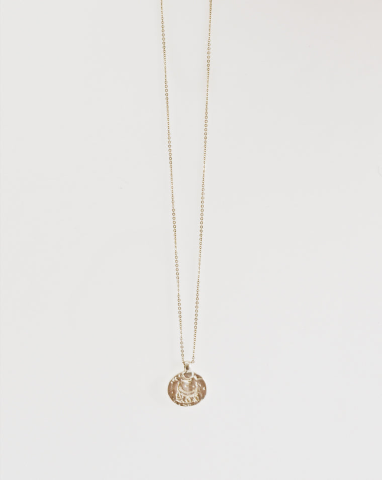 BULAN NECKLACE SILVER