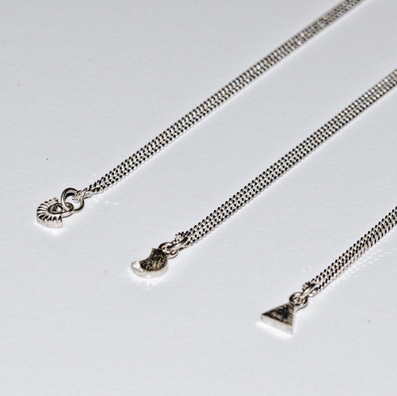 AHAU NECKLACE SILVER