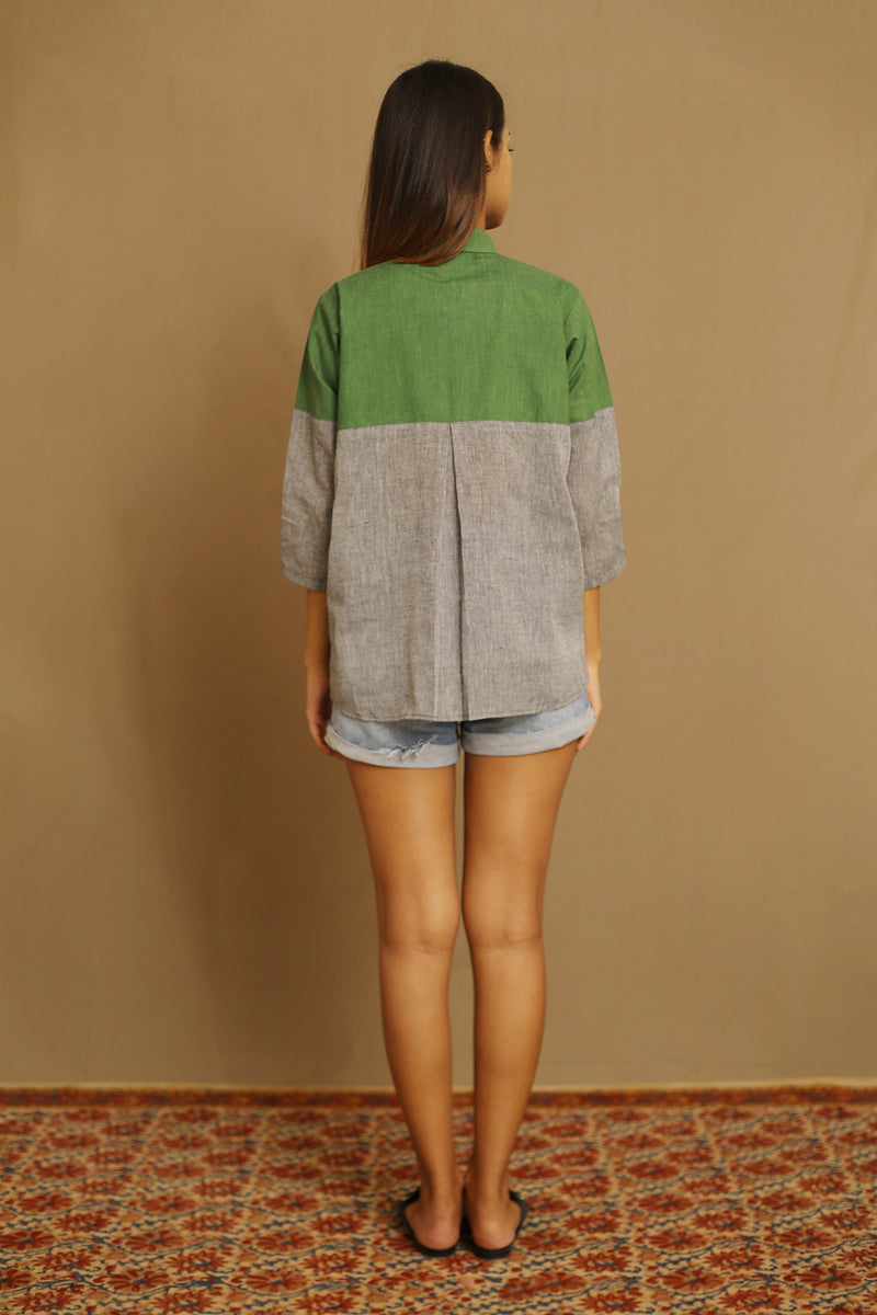 Green & Grey - Shirt