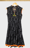 Black Ikat Dress