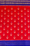 Red Pochampally Silk